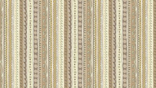 Makower Doodle Days, 1877/Q Stripe Multi Grey 100% cotton